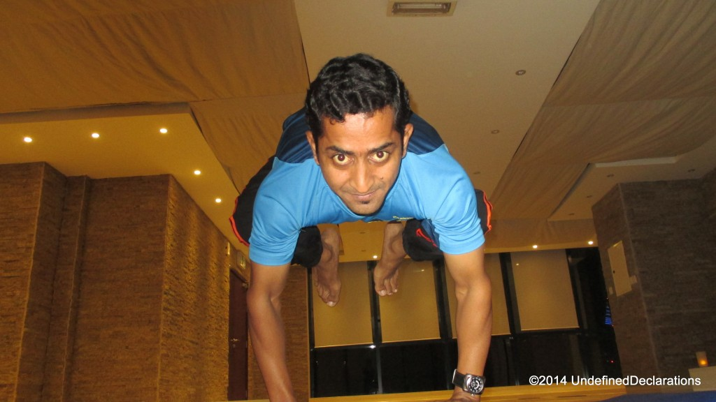 Our Power Yoga Trainer, Munishwer