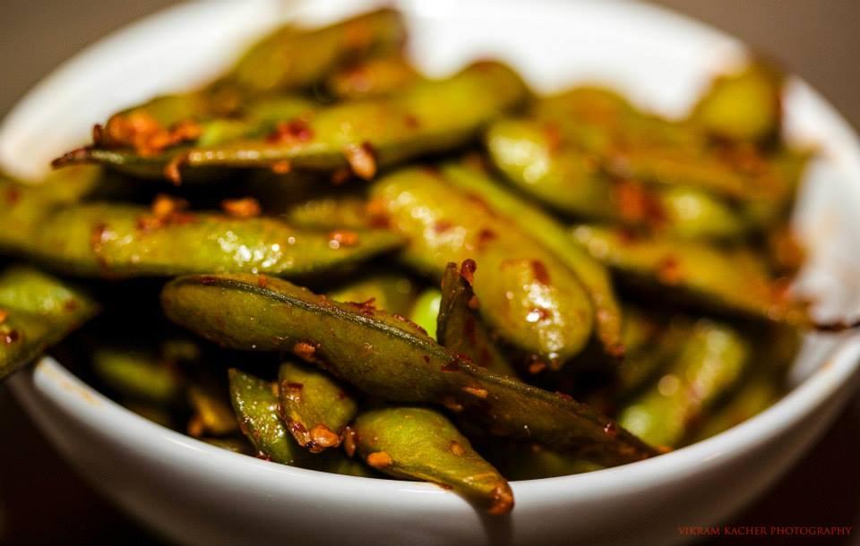 Spicy Edamame Beans