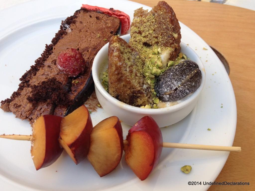 Dessert Options at Le Rivage Brunch