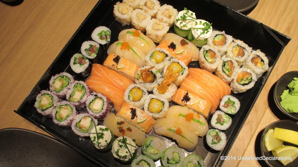 The Black Box Deluxe at Sushi Art Dubai