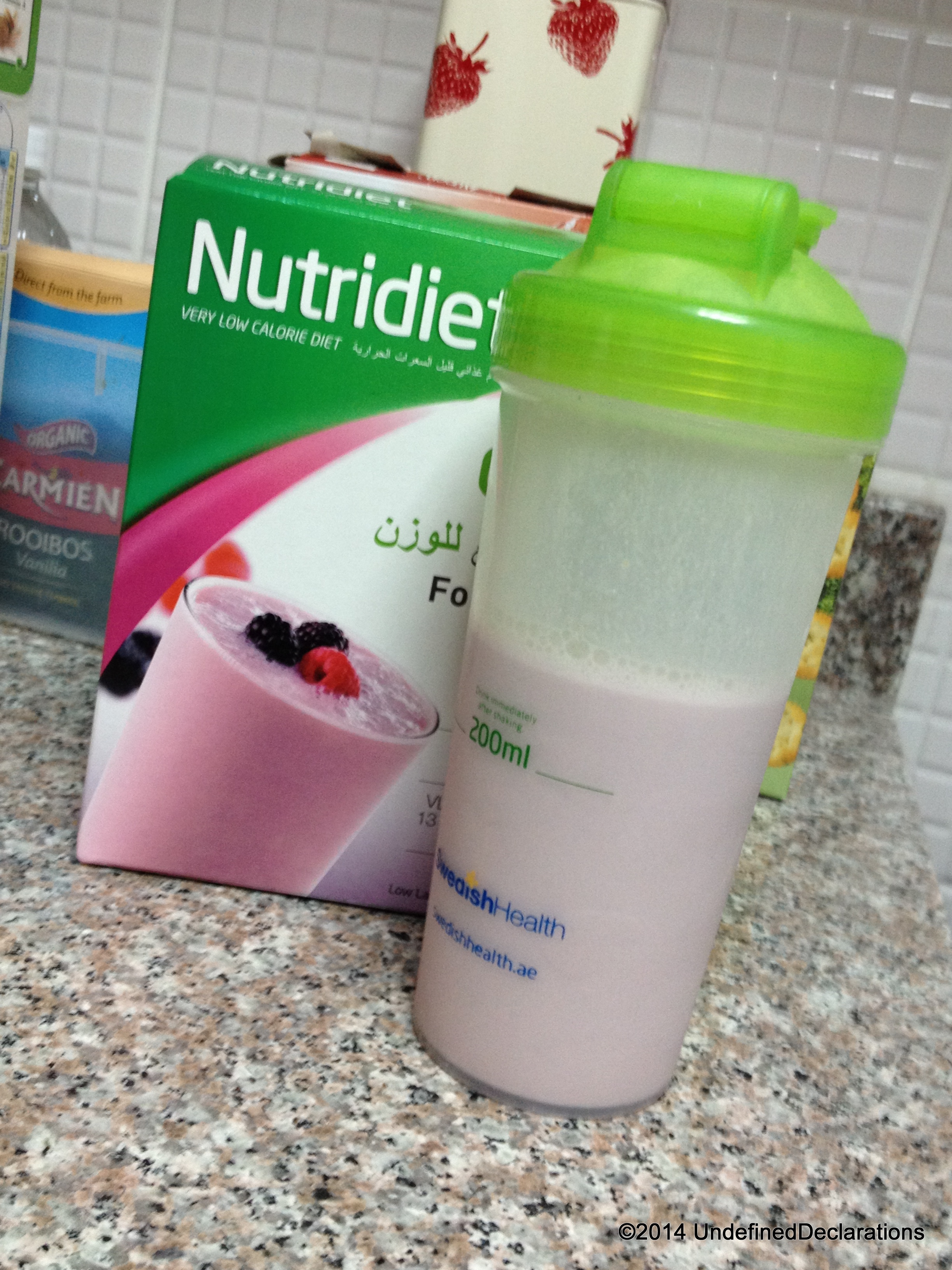 UD Product Review: Nutridiet