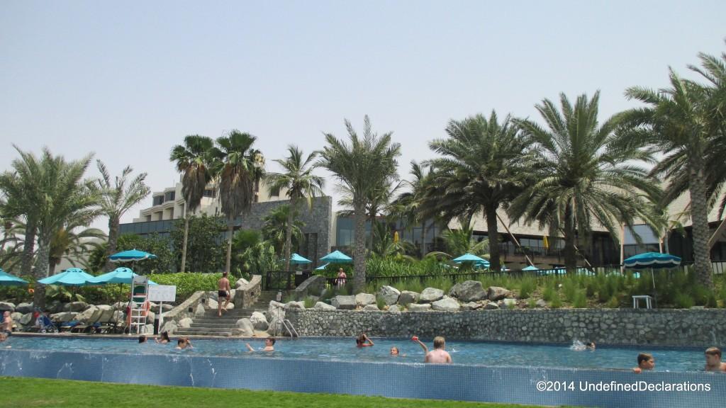 The Infinity Pool at JA Beach Club