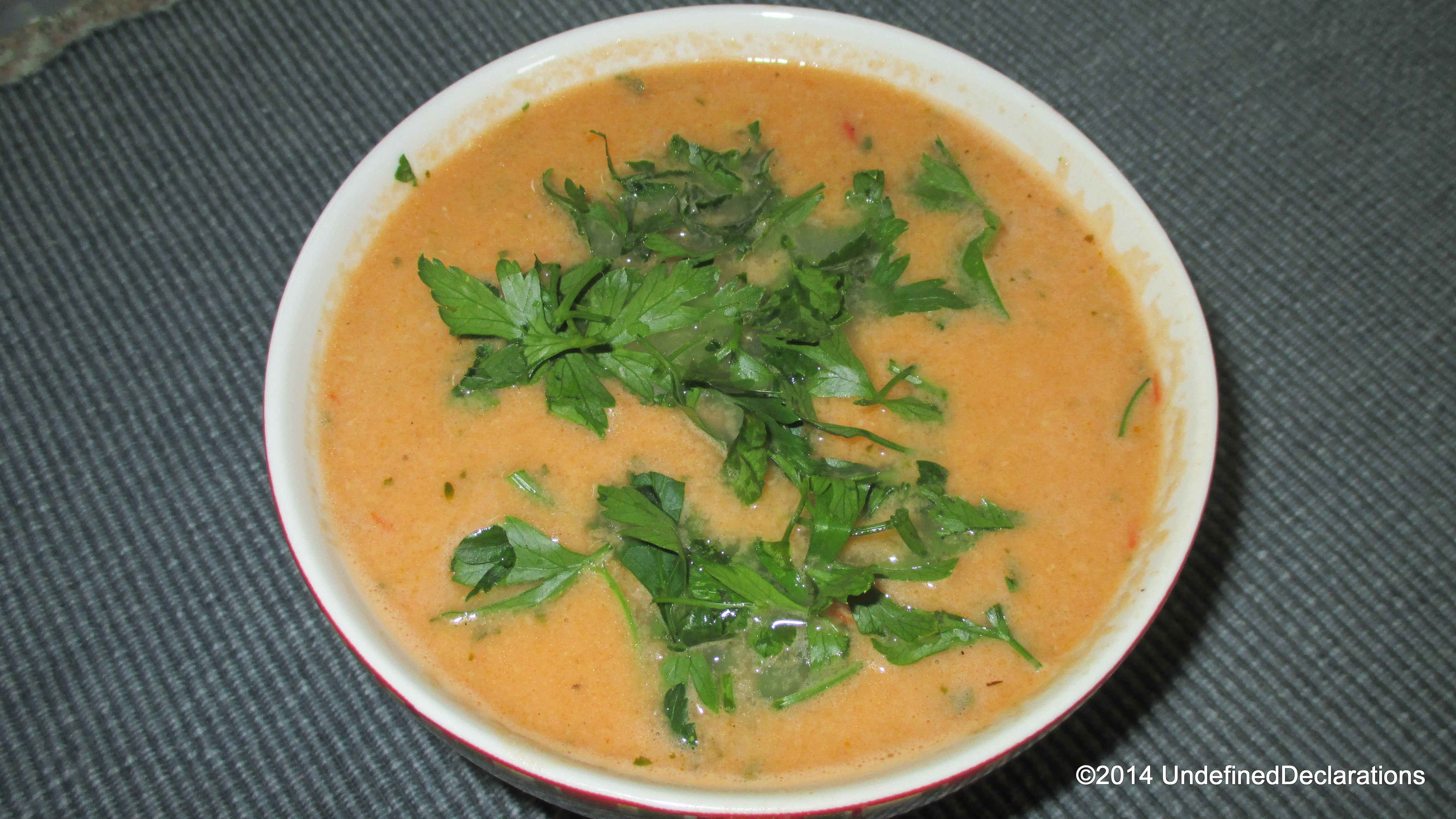 UD Recipe Story: Chickpea Tomato Soup