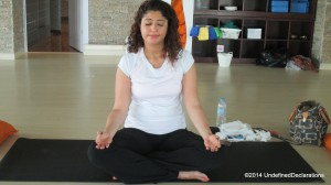 Meditation at Yoga Ashram Dubai