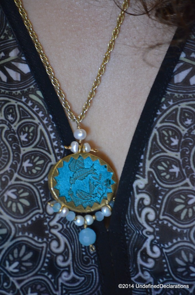 Pendant Necklace is from O' De Rose