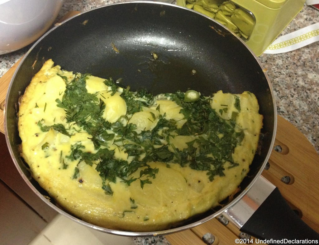simple and tasty vegetable frittata