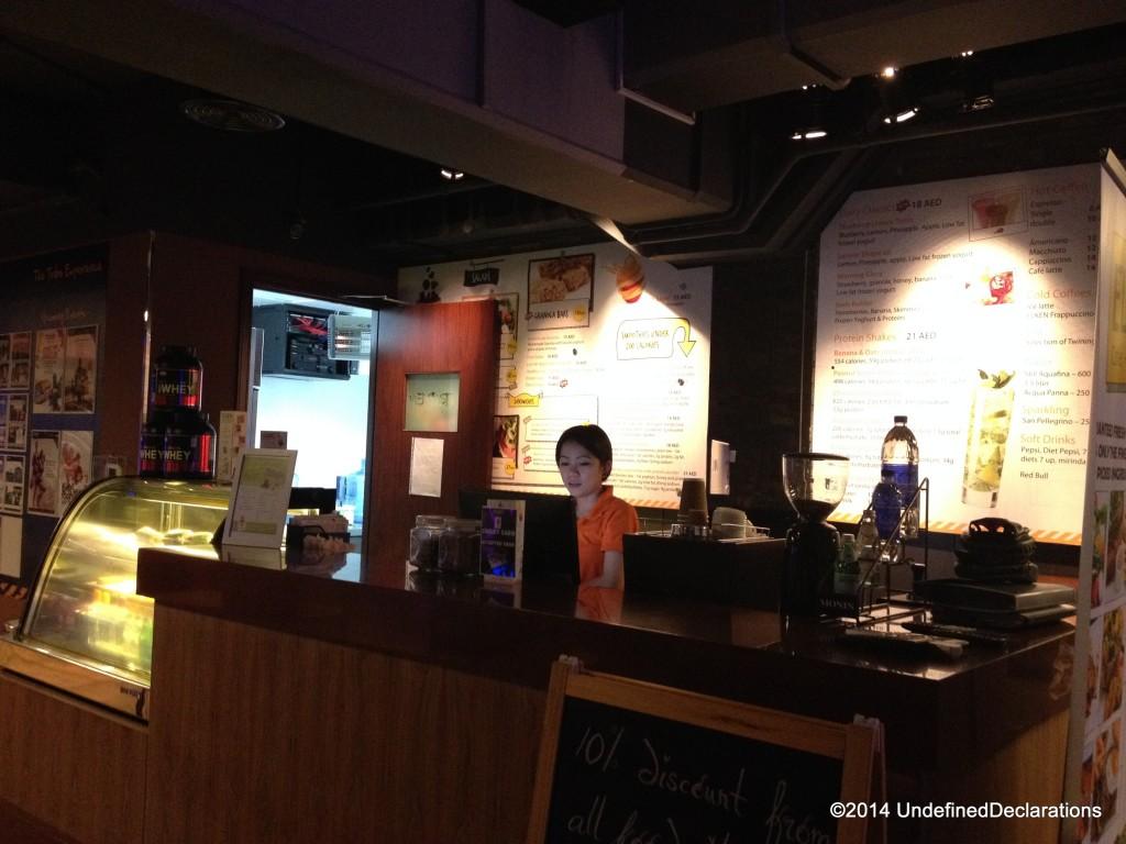 Elken Cafe inside Tribefit Marina!
