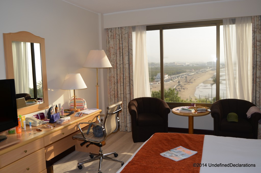 Sea-view Room at Crowne Plaza Muscat
