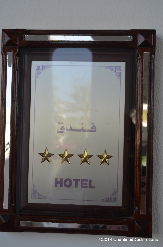 Crowne Plaza Muscat is a four star property