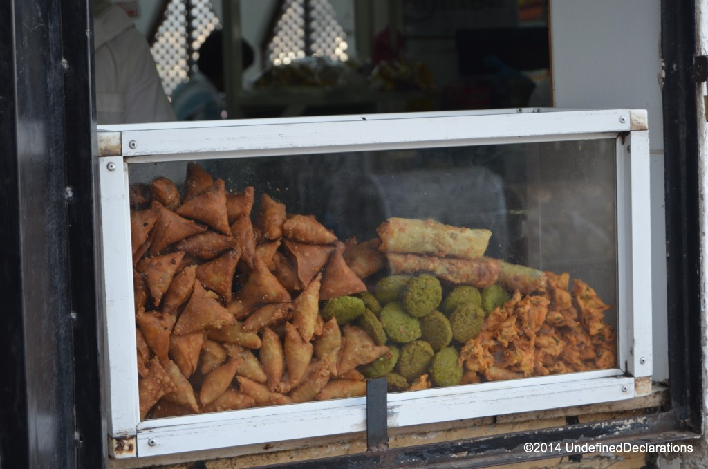 street food snacks at Muttrah Souq