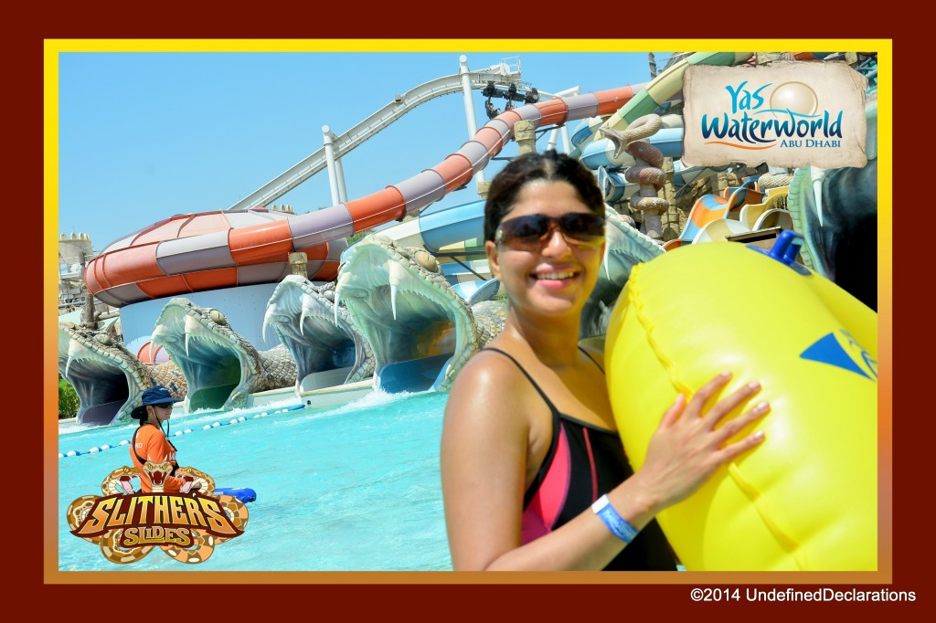 Slither's Slides at Yas Waterworld waterpark