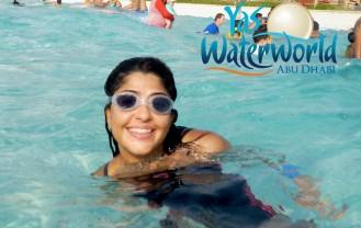 "UD at Yas Waterworld ""beach"" pool"