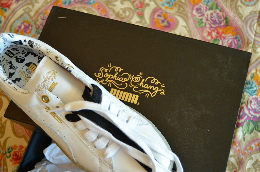 PUMA x Sophia Chang sneakers