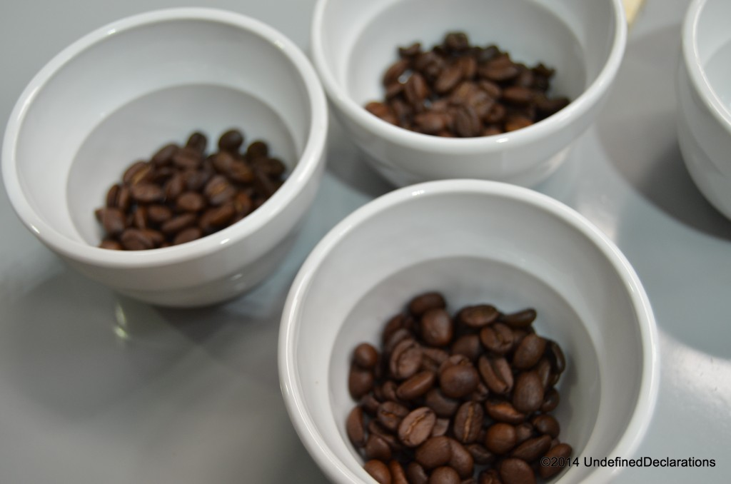 Fresh coffee beans at Sabado Coffee Club