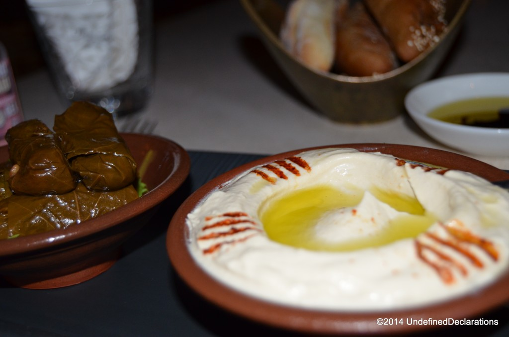 Delicious Arabic Mezze at The Chedi Muscat