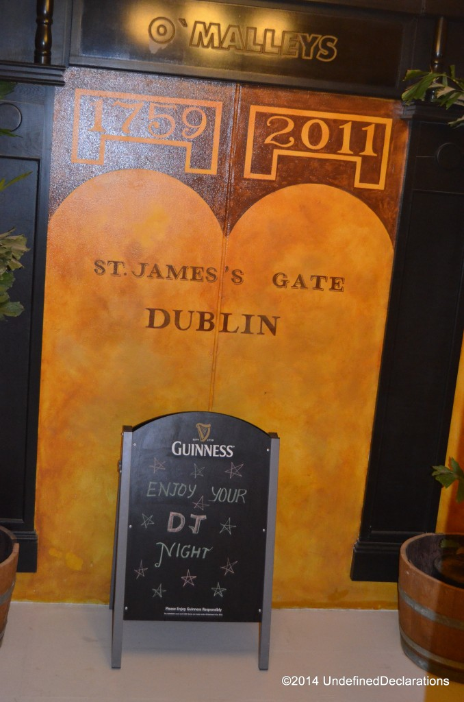 O'Malley's Irish pub in Muscat is worth a visit