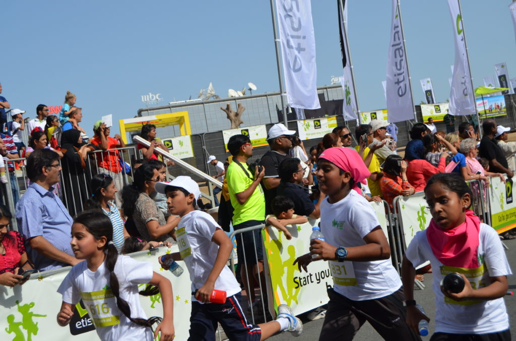 UD Insider: Dubai School Children Get Fit at the First Ever Kids' Run