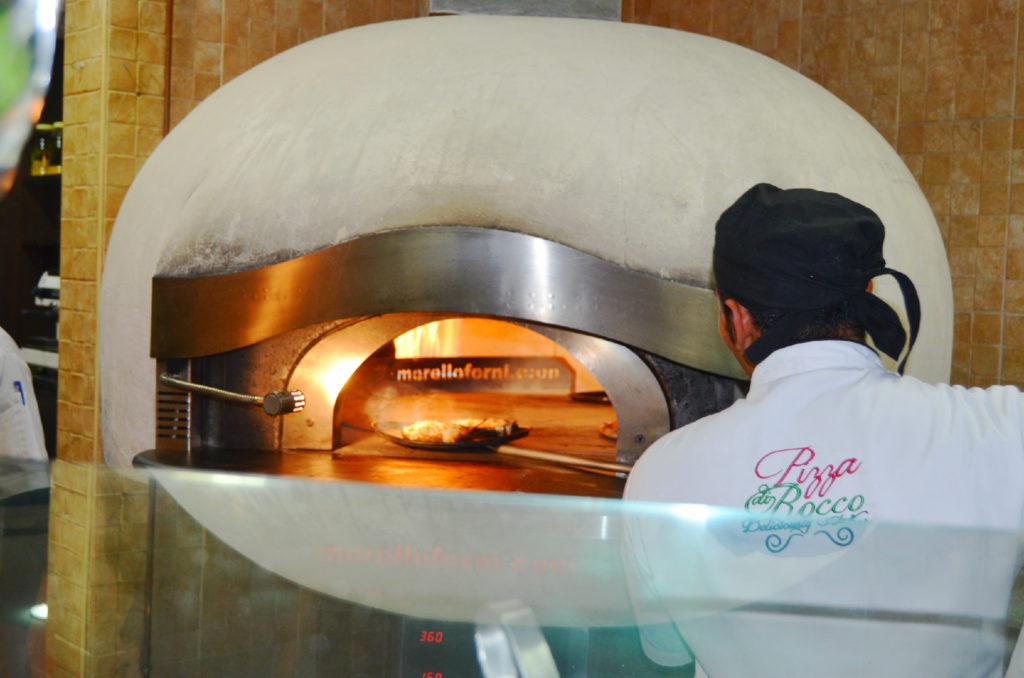 Pizza Di Rocco's special oven