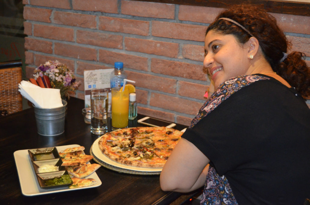 Abu Dhabi's best pizzeria; Pizza Di Rocco